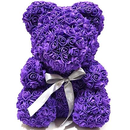 Artificial Roses Purple Teddy: