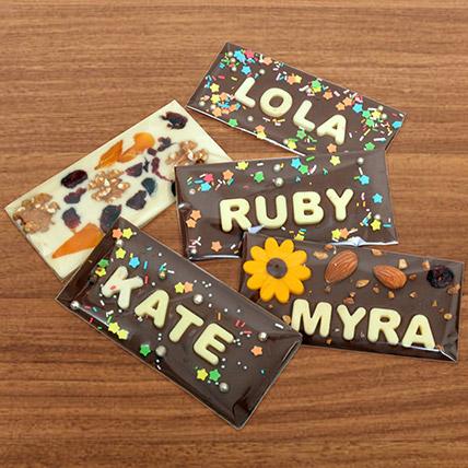 Personalised Milk Chocolate Bar: Friendship Day Gift Ideas 2020