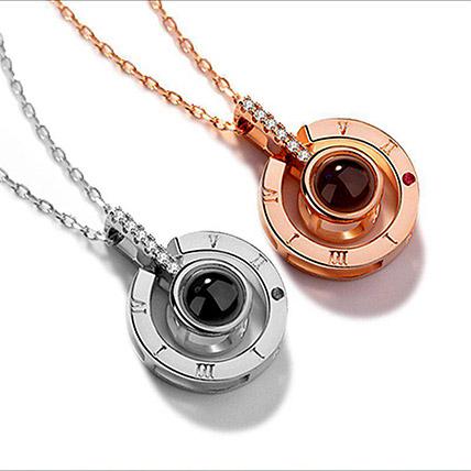 Love Projection Designer Necklace: Accessories