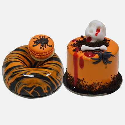 Spooktacular Mono Cakes Combo: Halloween Gifts