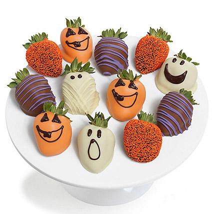Spooky Chocolaty Strawberries: Chocolate Covered Strawberries