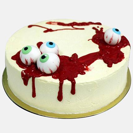 Spooky Eye Balls Halloween Cake 1Kg: Halloween Cakes