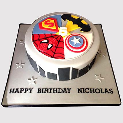Avengers Fondant Cake: Avengers Cakes