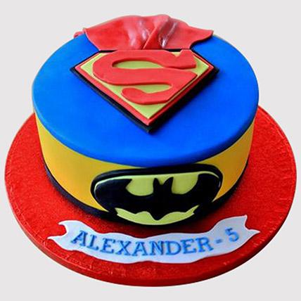 Batman Superman Fondant Cake: Batman Cakes