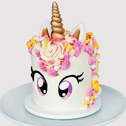 Big Eyed Unicorn Cake: Designer Cakes  Delivery