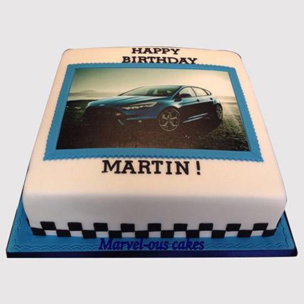 Car Photo Cake: McQueen Cakes