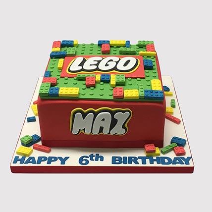Colorful Lego Blocks Cake: Lego Cake