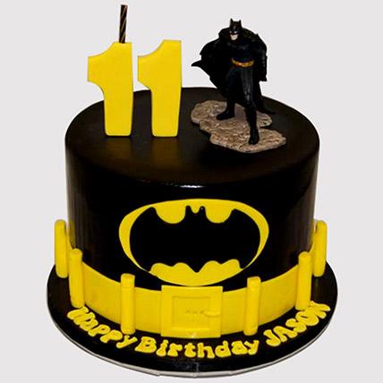 Incredible Online Batman Cake Batman Birthday Cake Ferns N Petals Birthday Cards Printable Opercafe Filternl