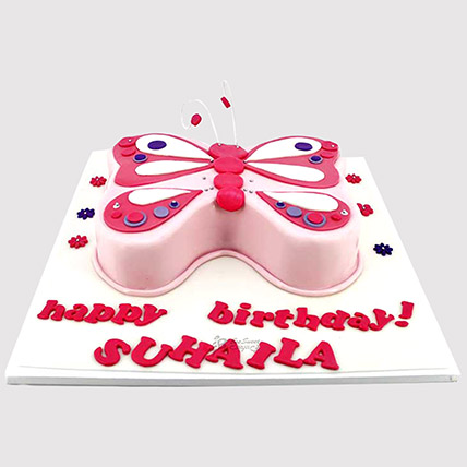 Designer Butterfly Cake: Butterfly Theme Cakes