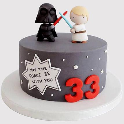Designer Star Wars Cake: Star Wars Cakes