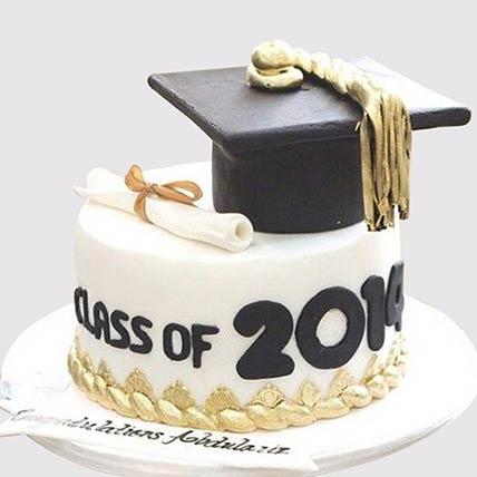 Graduation Party Fondant Cake: Graduation Theme Cakes