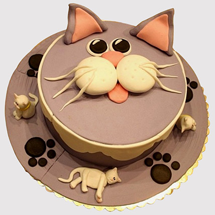 Grandpa Cat Cake: Cat Birthday Cakes