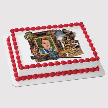 Harry Potter Photo Cake: Harry Potter Cake