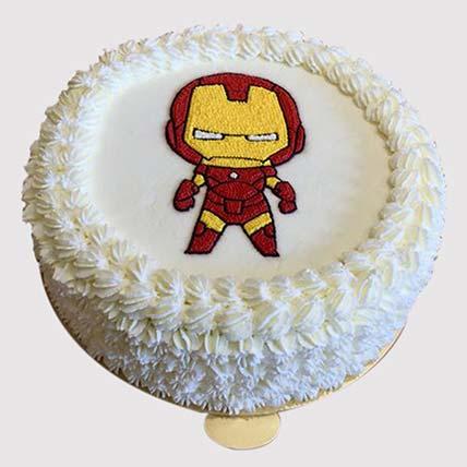 Iron Man Special Cake: Iron Man Birthday Cakes