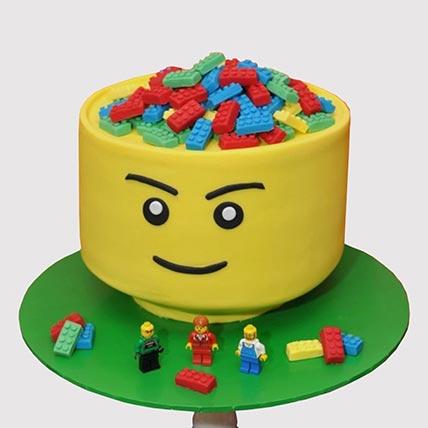 Lets Play Lego Cake: Lego Cake