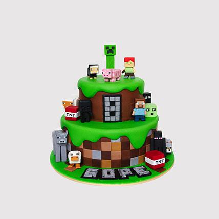 Minecraft Cake Minecraft Birthday Cake Minecraft Cake Ideas