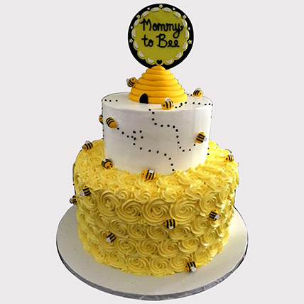 Mommy To Bee Cake: