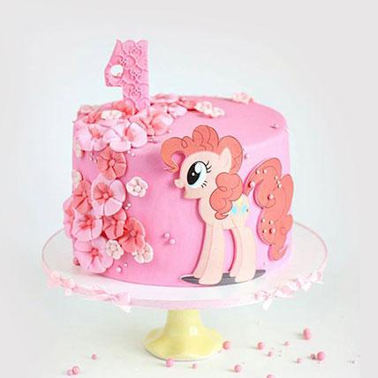 My Little Pony Pinkie Pie Cake: 1st Birthday Cakes