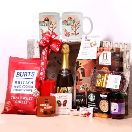 Christmas Wishes Snack Basket: Christmas Gift Hampers
