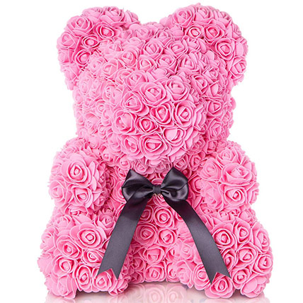 Artificial Roses Teddy Light Pink: Artificial Flowers