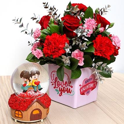 Valentines Flower Vase and Musical Idol: Valentine Gifts
