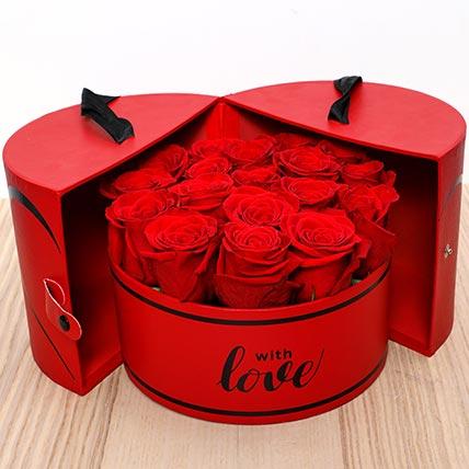 Luxurious Roses Box: Flower Box Dubai