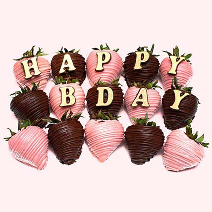 Chocolate Covered Strawberries For Birthday: