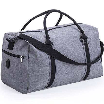 Grey Multipurpose Bag: