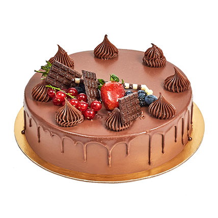 4 Portion Fudge Cake: Cake Shops
