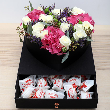 Roses N Chocolates Combo: