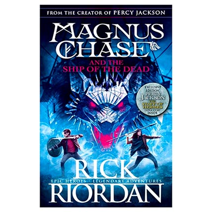 Magnus Chase and the Ship of the Dead: Books