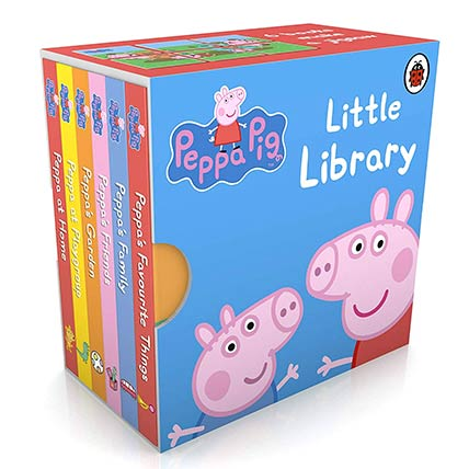 Peppa Pig Little Library by Ladybird: Books
