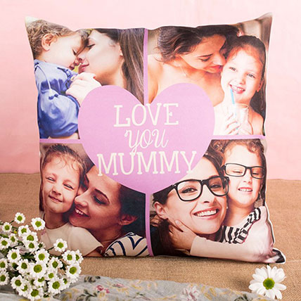 Love You Mummy Personalised Cushion: Personalized Gifts for Mother's Day