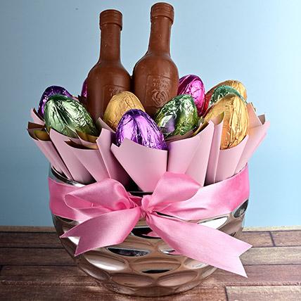 Easter Delight Hamper: Chocolate Easter Eggs