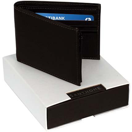 Tasteful Mens Wallet  Black: Mens Wallet