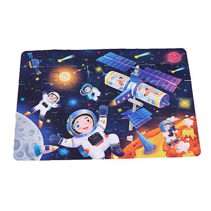 Astronaut Puzzle Box: