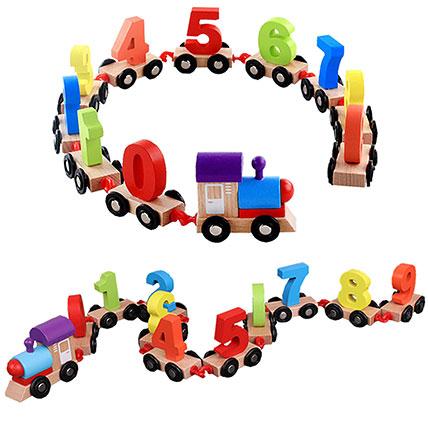 Digital Toy Train: