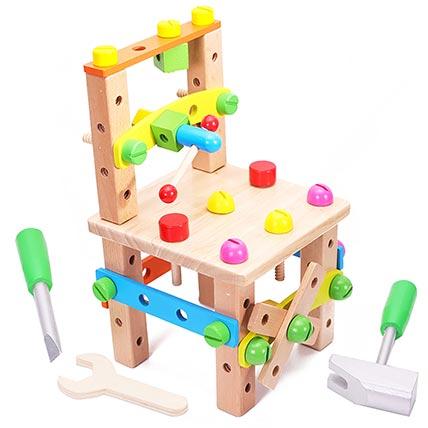 Lu Ban Chair Toy: Kids Gift Ideas