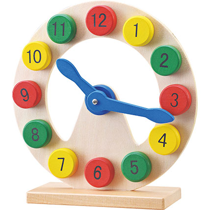 Wooden Digital Clock: