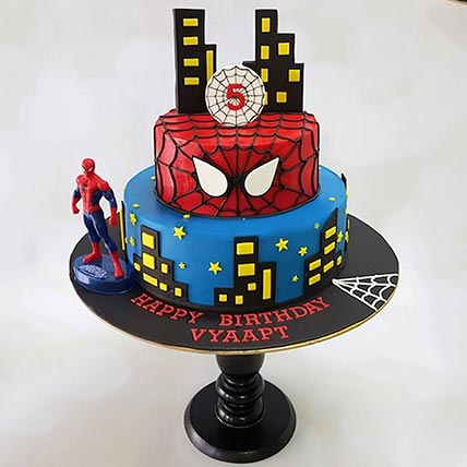 2 Tier Spiderman Cake: Spiderman Cake Ideas