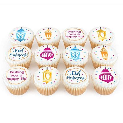 Eid Mubarak Theme Cup Cakes: Eid Cakes