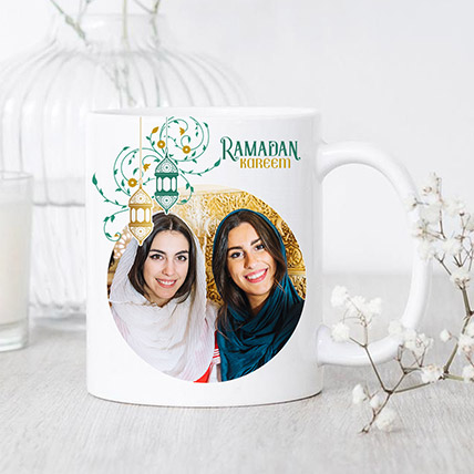 Ramadan Greetings Photo Mug: Ramadan Personalised Gifts