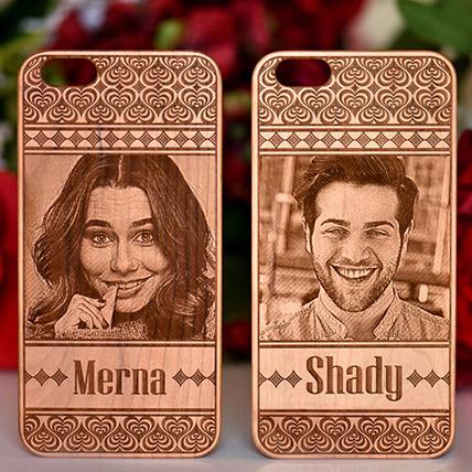 Personalised iPhone Wooden Case, ip11 series: