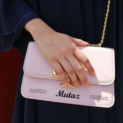 Personalised Womens Wallet Bag: Handbags Dubai