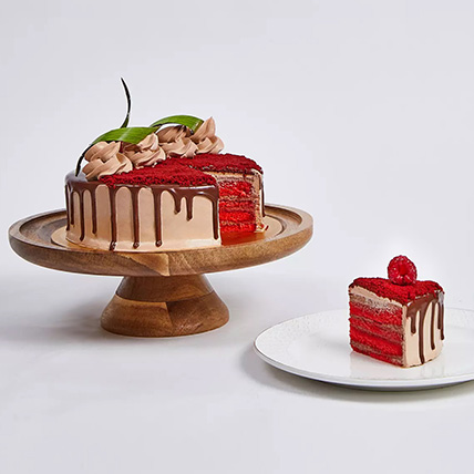 Chocolaty Red Velvet Cake: Eggless Cakes