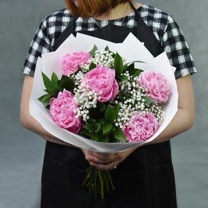 Sweet Blooms: Peony Bouquet