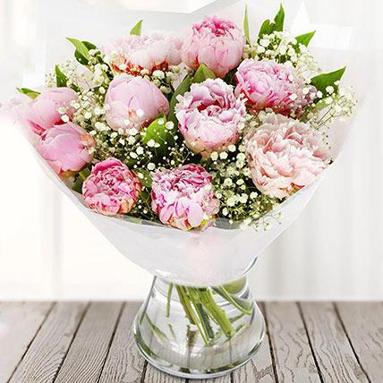 Sweetest Bloom: Peony Bouquet