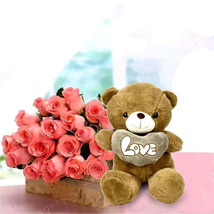 Perfect Fantasy: Birthday Flowers & Teddy Bears