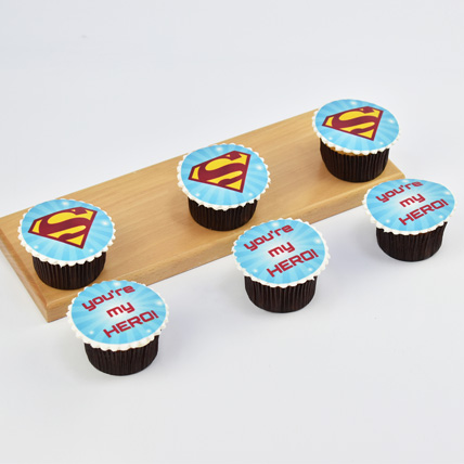 You Are My Hero Cupcakes: Fathers Day Cakes