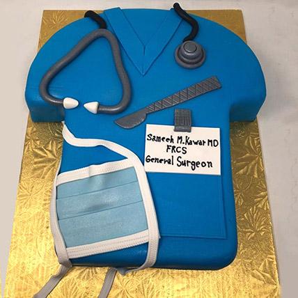 Doctors Graduation Cake: Graduation Theme Cakes